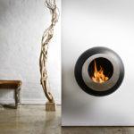 Hogar bioetanol Cocoon Fires modelo Vellum Black