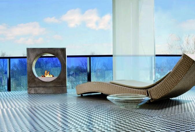 Hogar bioetanol Rubyfires modelo Milano