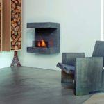 Hogar bioetanol Rubyfires modelo Salerno