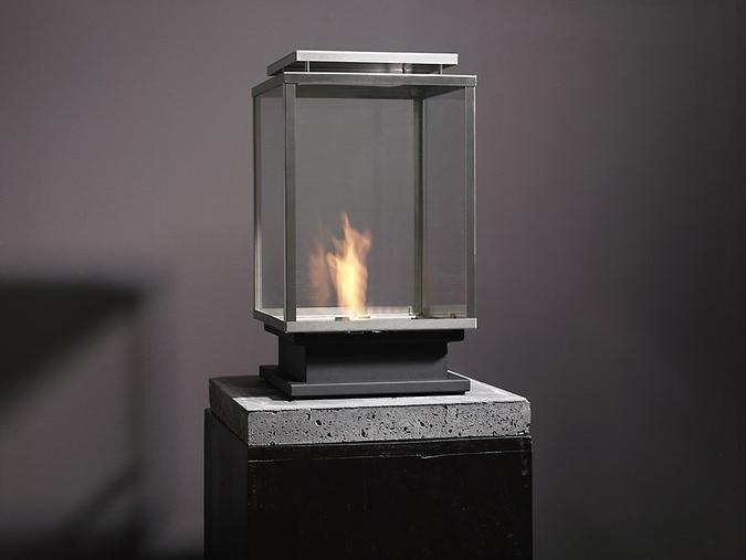 chimenea exterior de bioetanol modelo Bologna